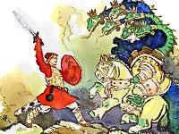 сказка иван крестьянский сын и чудо-юдо картинки